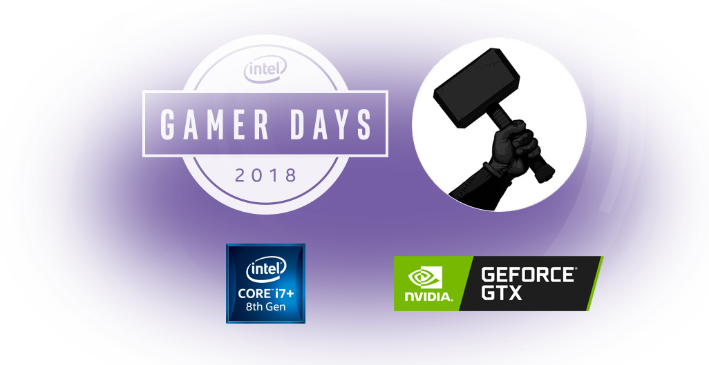 Giveaway drawing product. Intel gamer days origin
