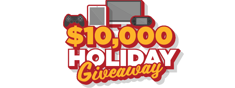 Giveaway transparent 10k. Holiday kentucky downs