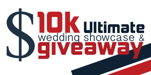 Giveaway transparent 10k. The k wedding showcase
