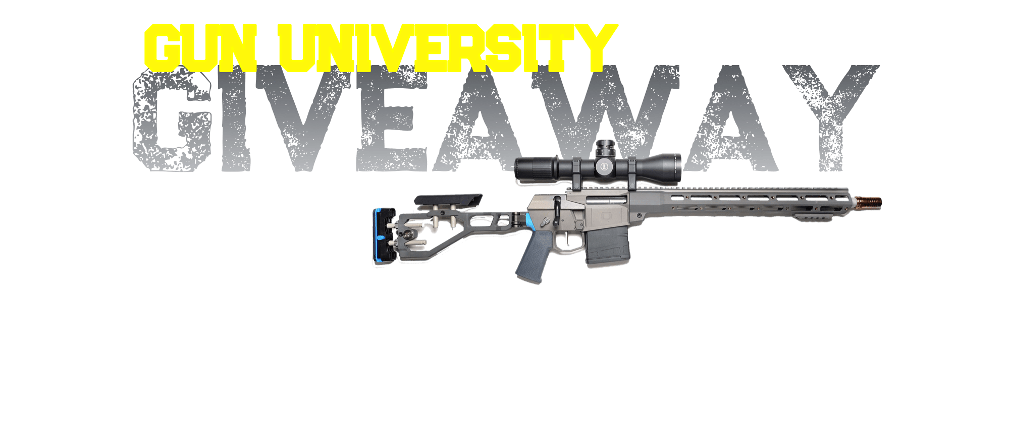 Giveaway transparent gun. Contests gununiversity com