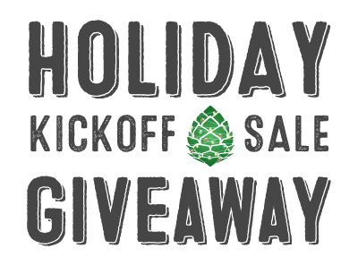 Giveaway transparent holiday. Kickoff sale stio test