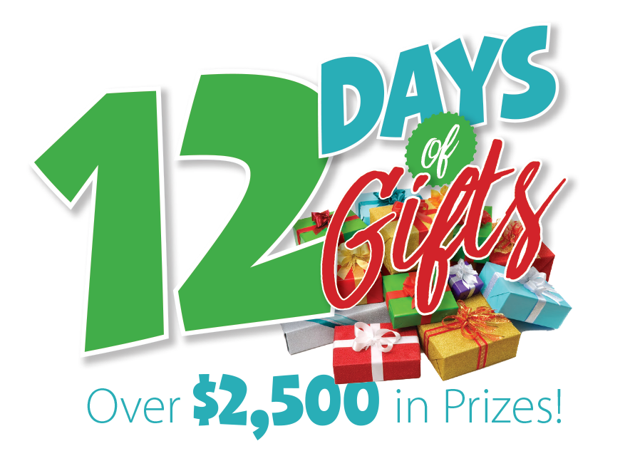 Giveaway transparent holiday. Toy days of gifts