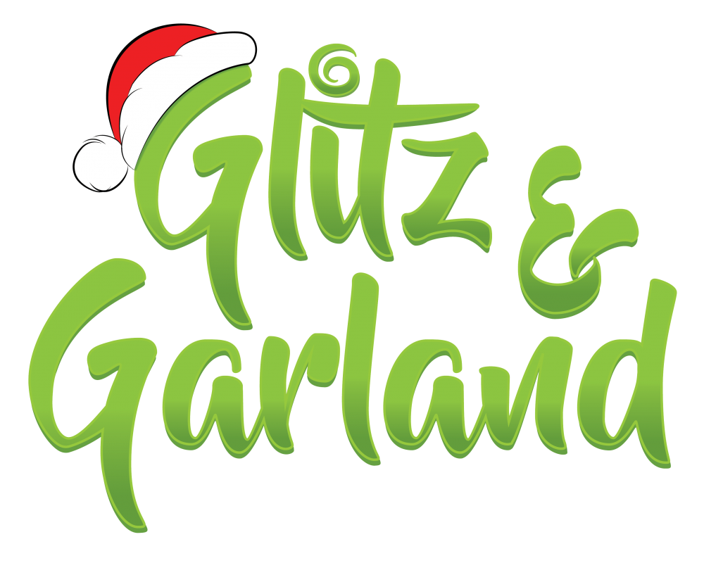 Giveaway transparent holiday. Annual glitz garland shopping
