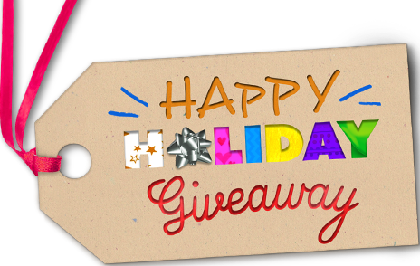 Giveaway transparent holiday. Happy