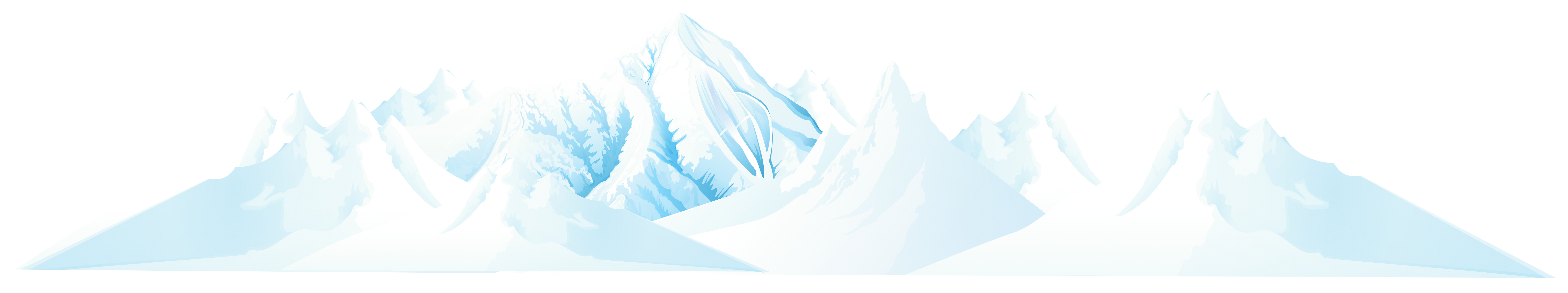 Iceberg clipart snow mountain. Winter png clip art