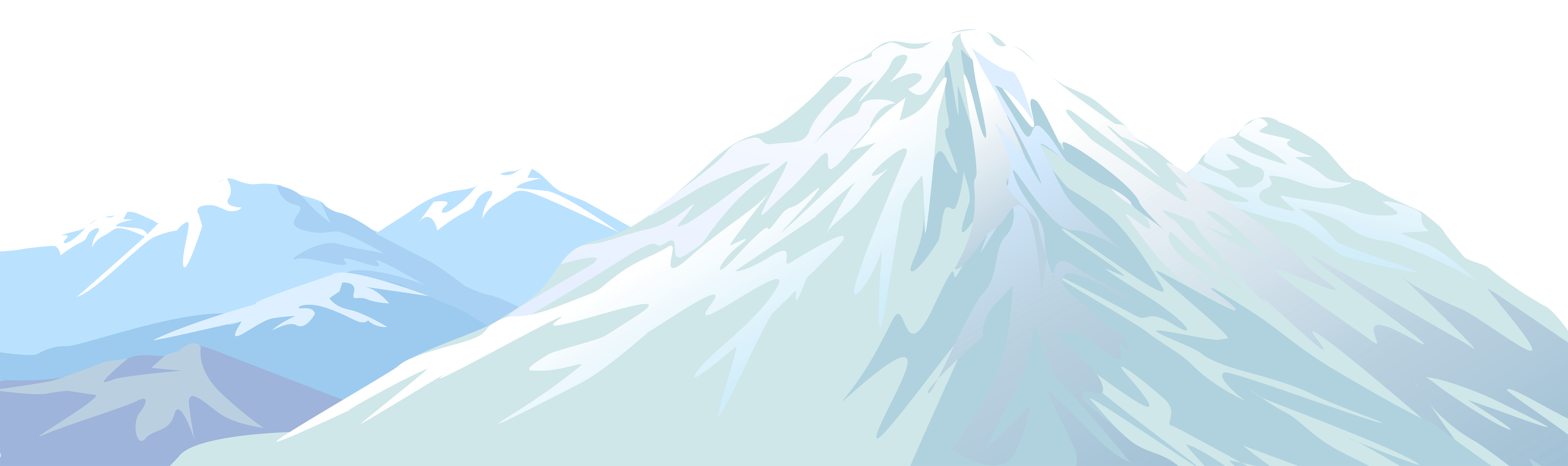 Winter snowy transparent png. Iceberg clipart snow mountain clip royalty free download