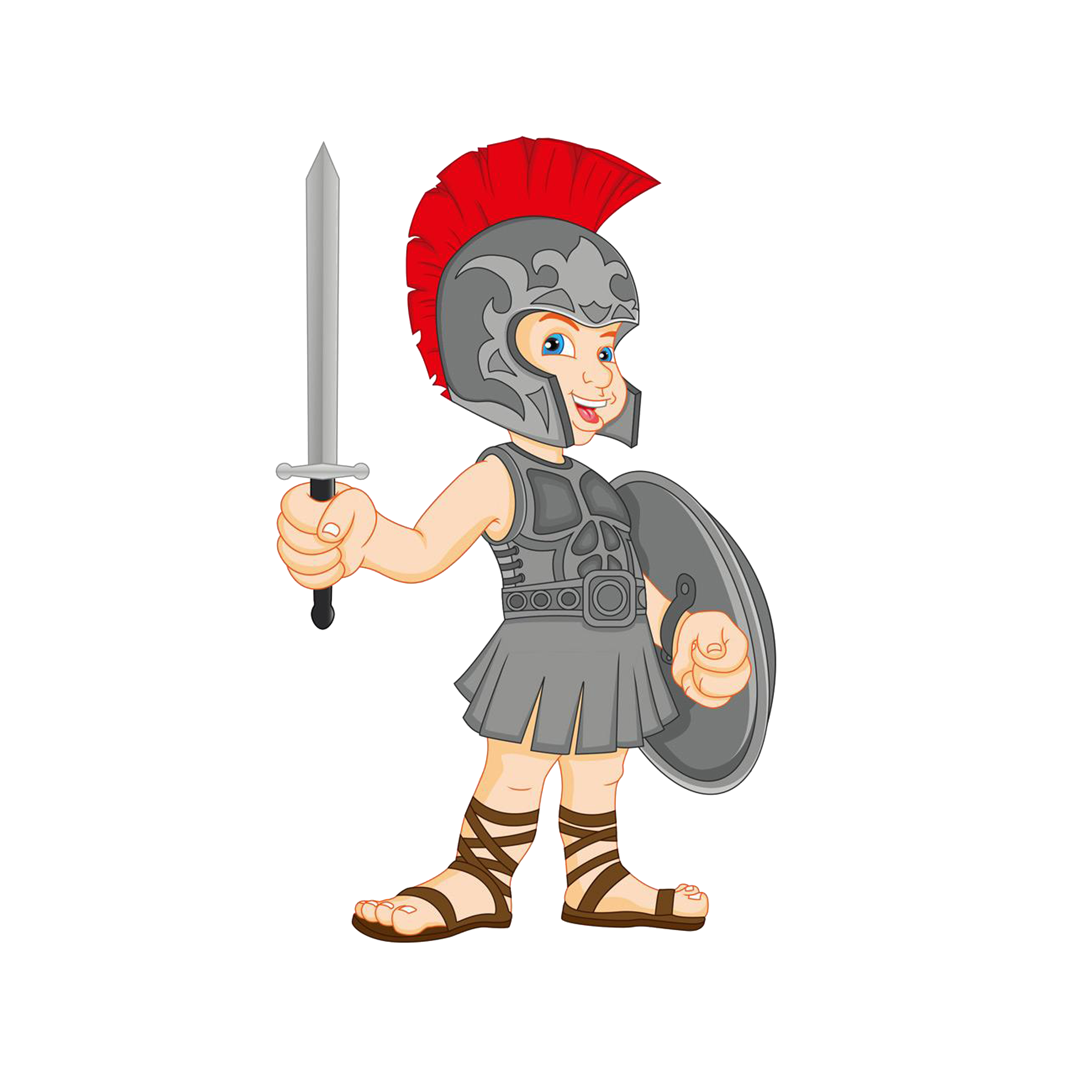 Gladiator clip. Royalty free art foreign