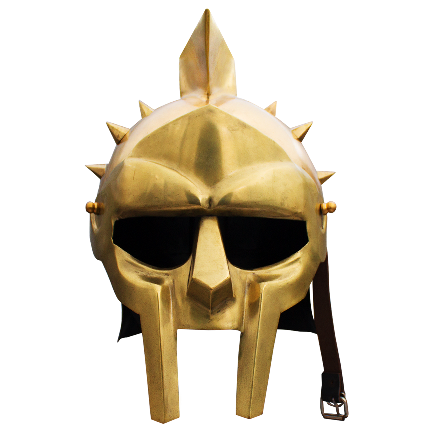 Roman arena spiked golden. Gladiator helmet png clip black and white download