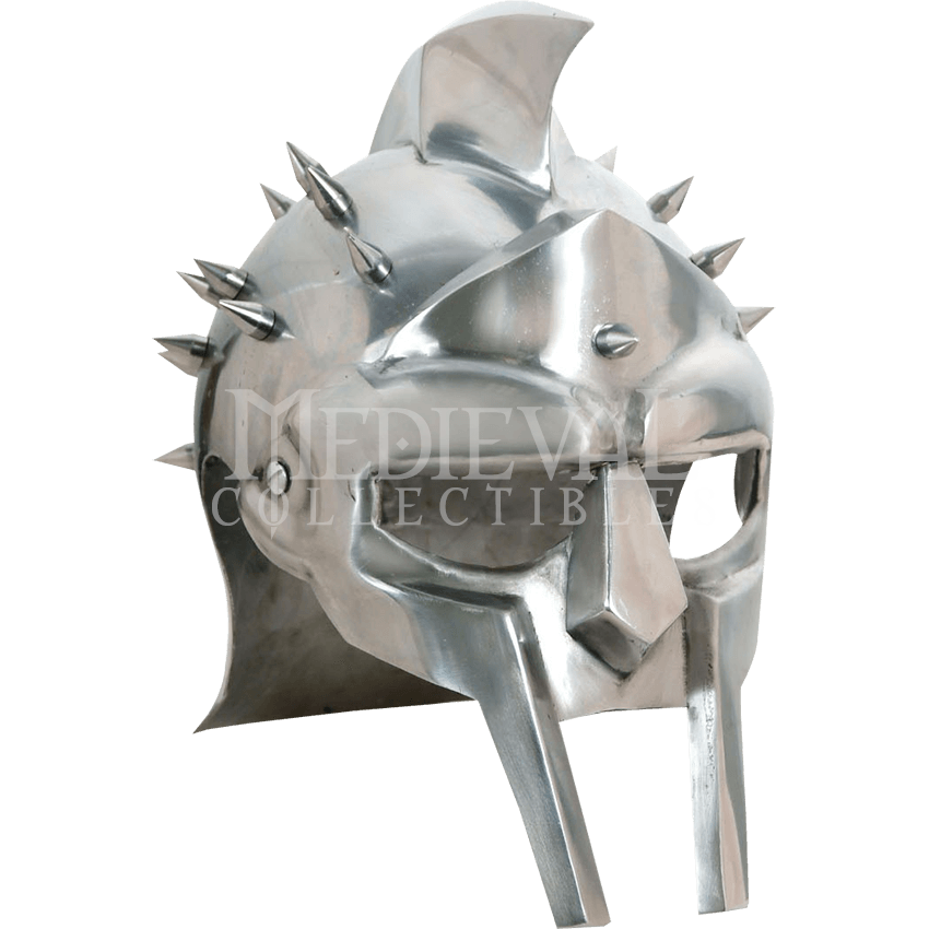 Spiked zs by medieval. Gladiator helmet png png freeuse download