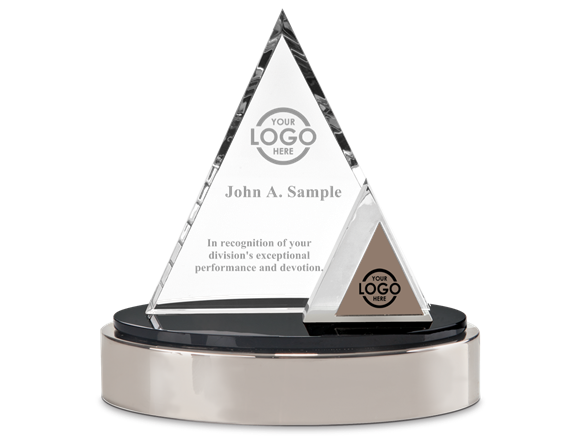 Glass award png. Triangle