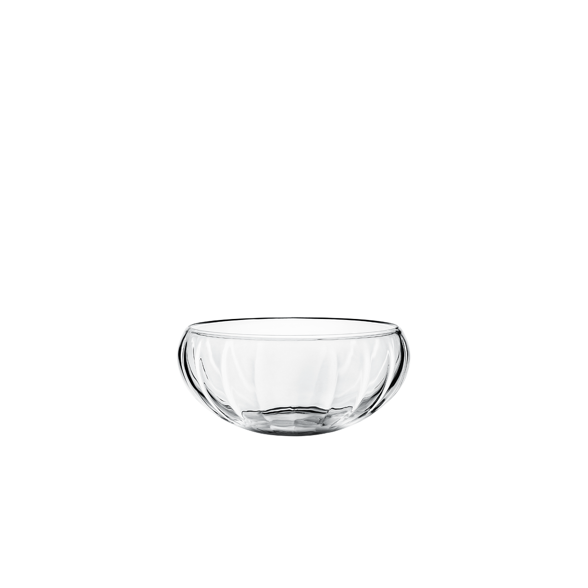 Bowl transparent clear. Legacy glass small