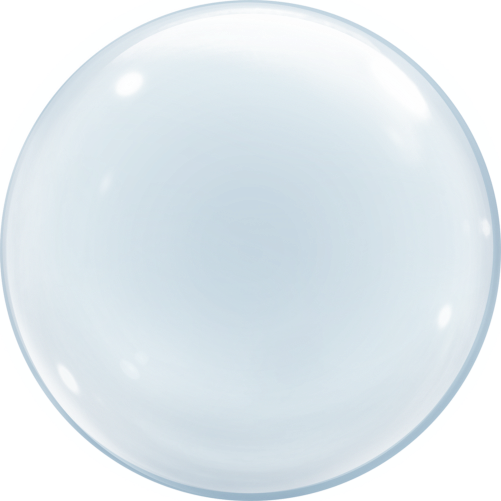 Transparent orb translucent. Soap bubble balloon helium
