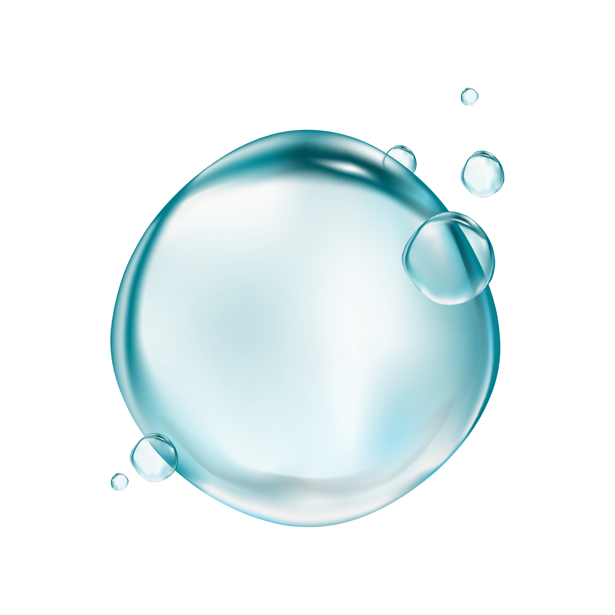 Glass bubble png. Drop transparency and translucency