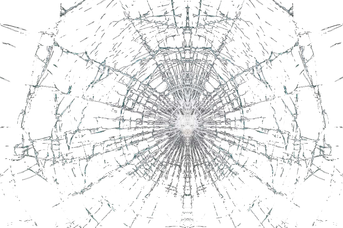 Glass cracks png. Drawing structure symmetry black