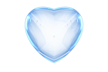 Glass heart png. Free by pamonk on
