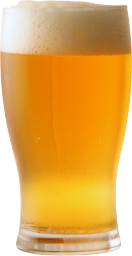 Glass of beer png. Nine isolated stock photo