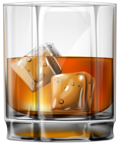 Whiskey vector. Glass of png clip