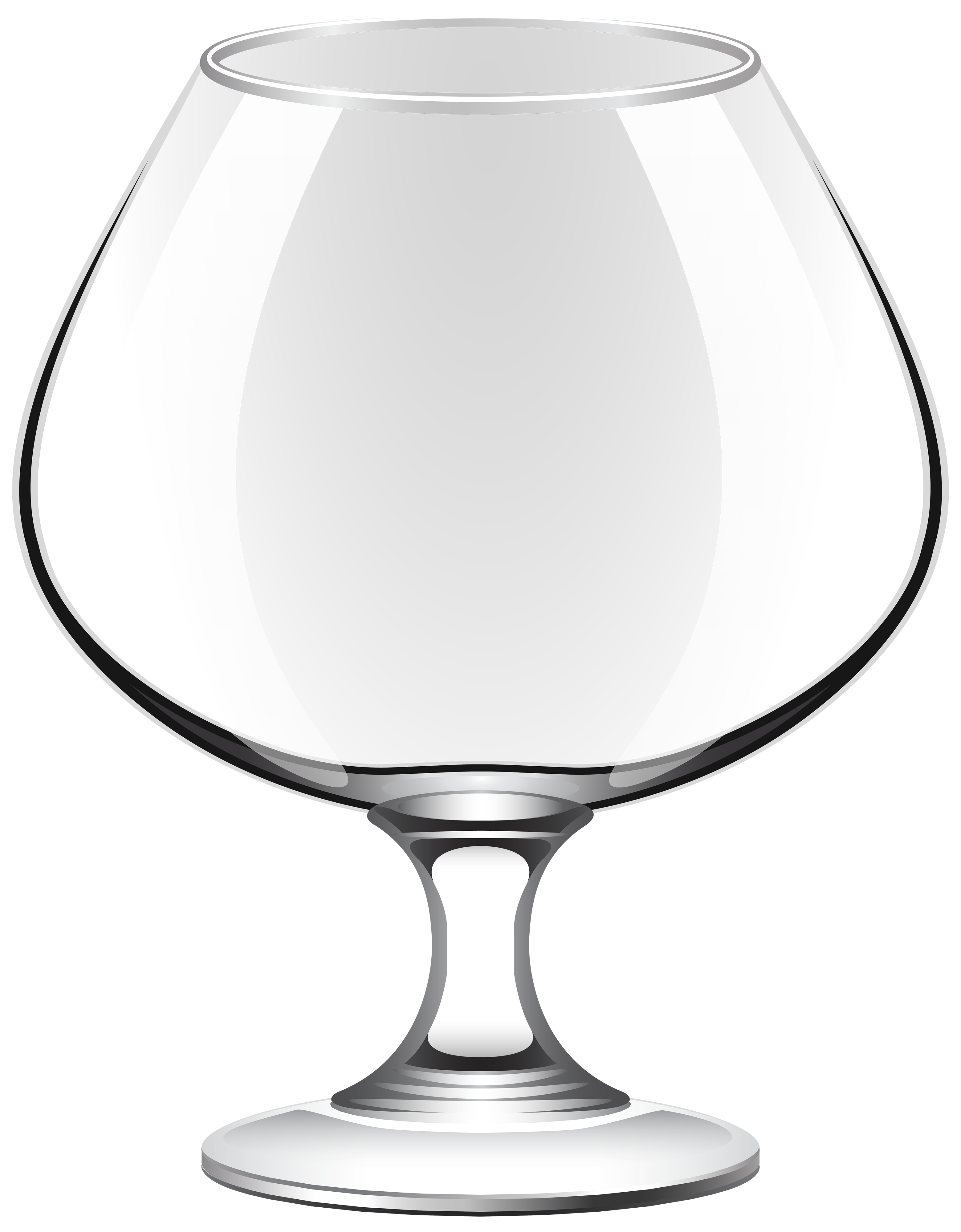 Glass png. Transparent brandy clipart best