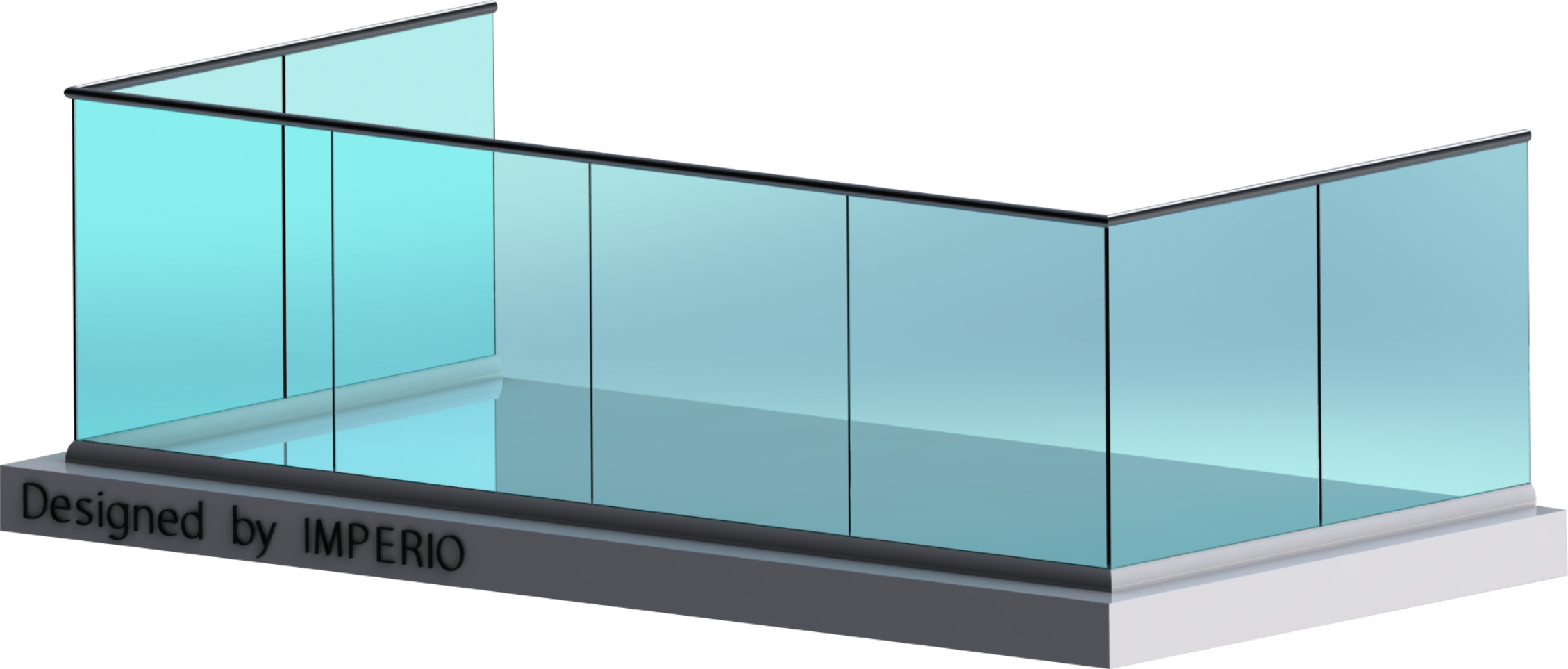 Glass railing png. Solution for all your