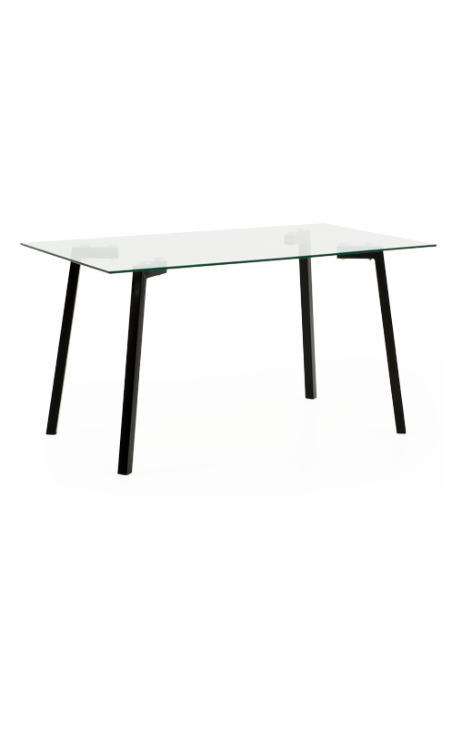 Glass table png. Rectangular with tabletop economax
