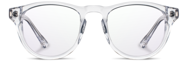 Transparent aviators eyeglasses. The original wood sunglasses