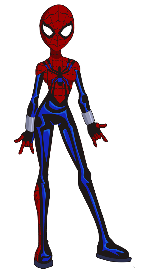 Glee drawing. Lazy spider girl by