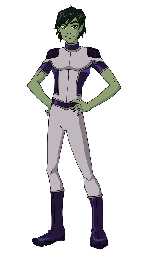 Glee drawing kid. Young justice beast boy