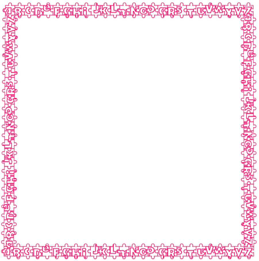 Glitter border png. Download cute bordered paper