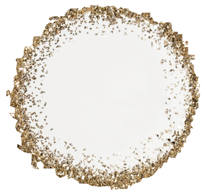 Glitter circle png. Glass transparency and translucency