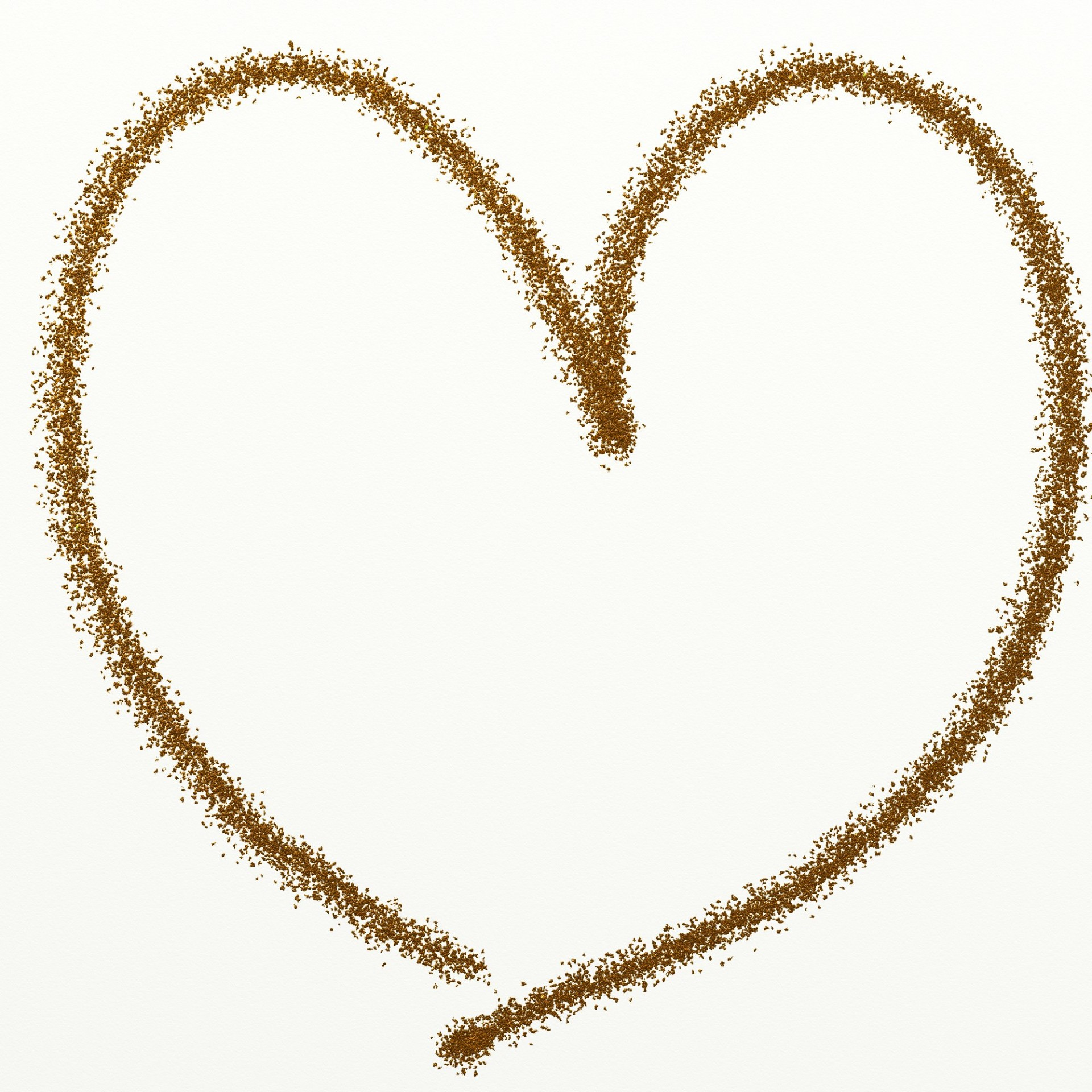Glitter clipart. Gold heart free stock