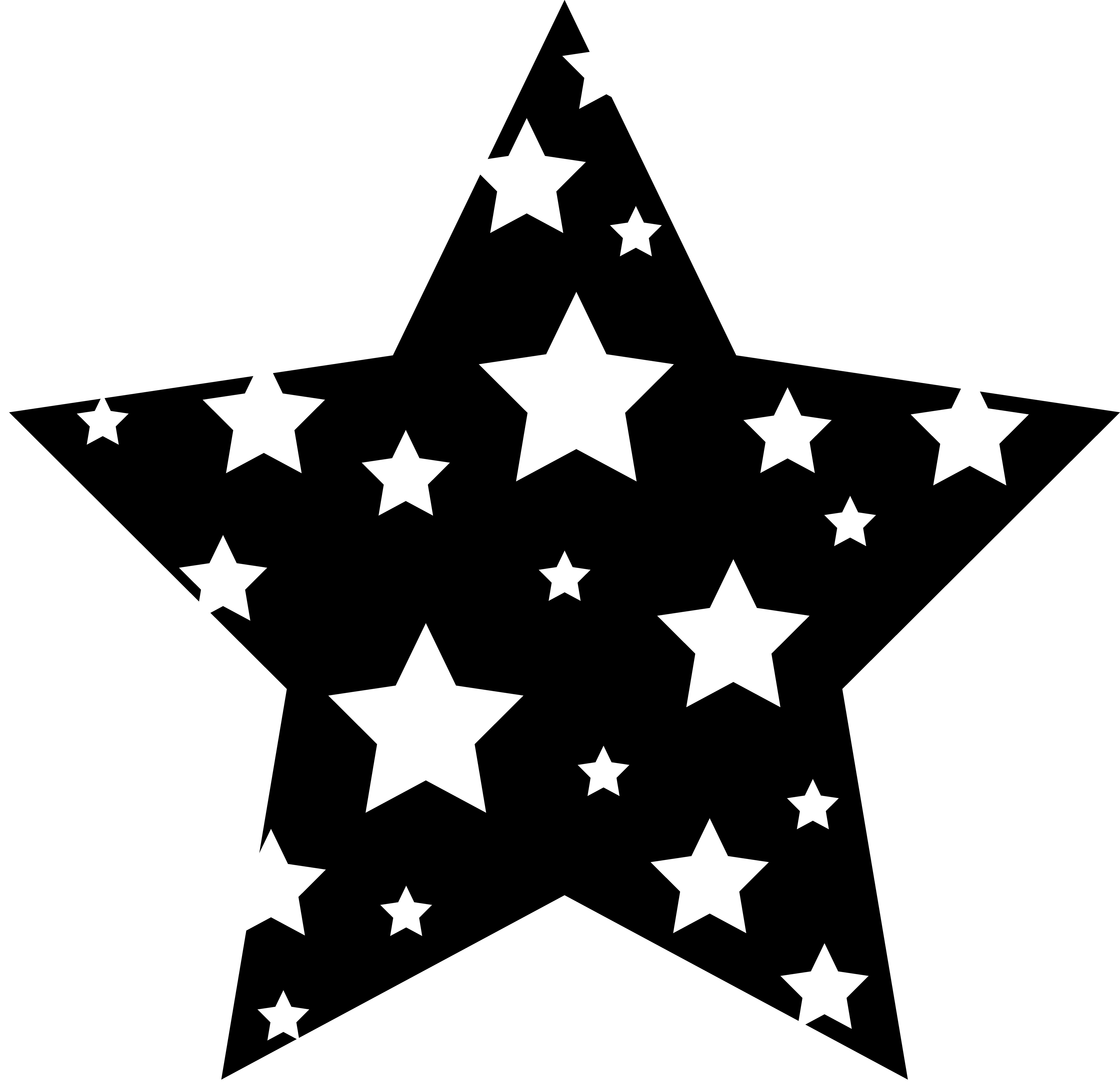 Vectorial drawing star. Free graphic cliparts download