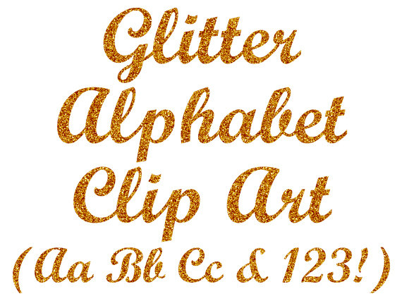 Gold alphabet digital letters. Glitter clipart fancy star clip art royalty free