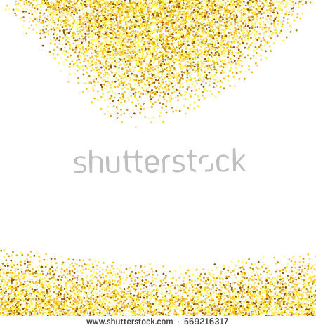 Glitter clipart gold abstract. Texture border over white library