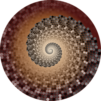 Circle point golden spiral. Glitter clipart gold abstract clip library