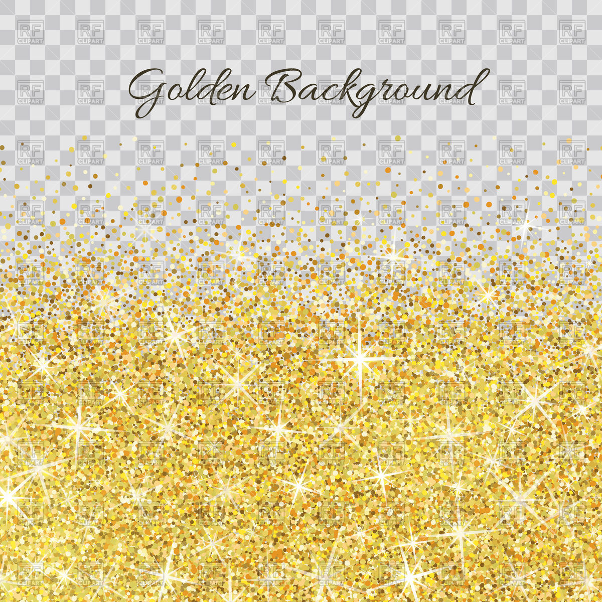 Glitter clipart gold abstract. Texture on transparent background clipart