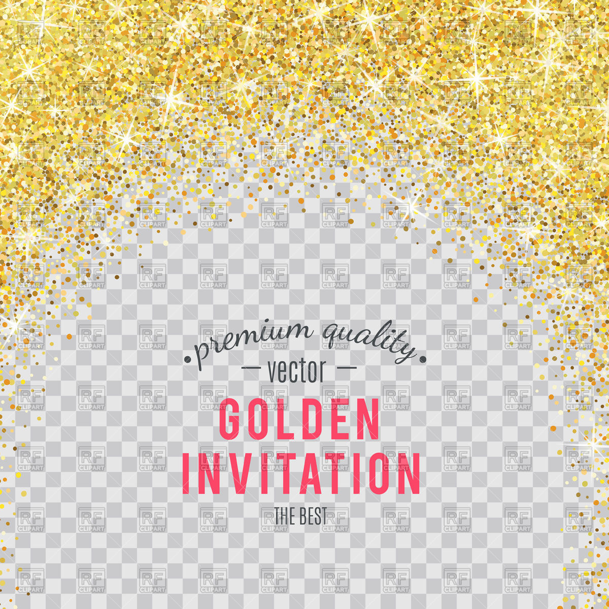 Background vector image artwork. Glitter clipart gold abstract picture royalty free library