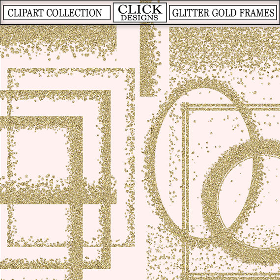 Frames printable confetti by. Glitter clipart gold glitter line picture transparent library