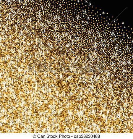 Golden with scattered sparkles. Glitter clipart gradient clip art free download