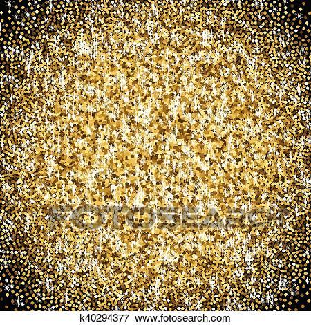 Clip art of golden. Glitter clipart gradient library