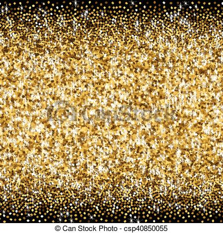 Glitter clipart gradient. Golden with scattered sparkles jpg