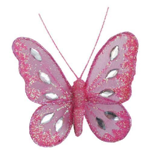 Glitter clipart light pink butterfly. Clip decorations ebay