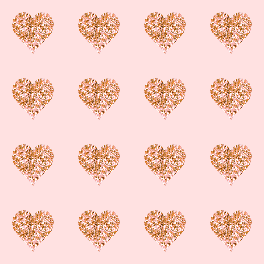 Glitter clipart rose gold heart. Hearts blush wallpaper willowlanetextiles