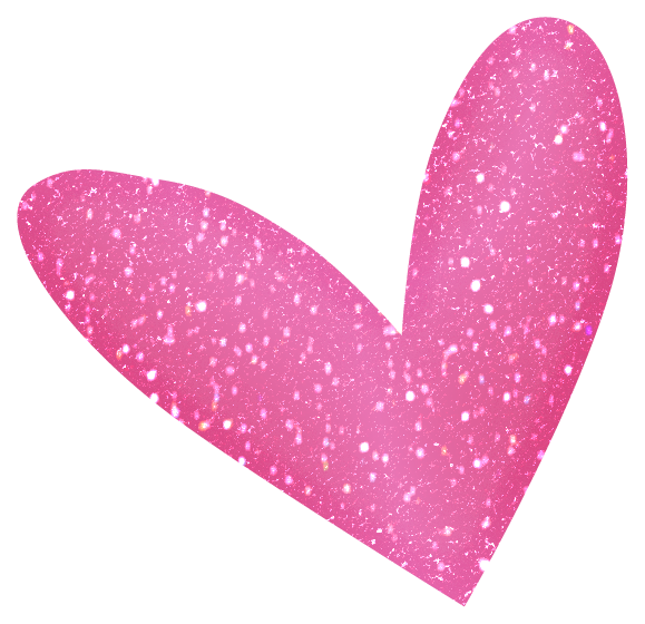 Glitter clipart rose gold heart. Sparkle hearts gingers pinterest