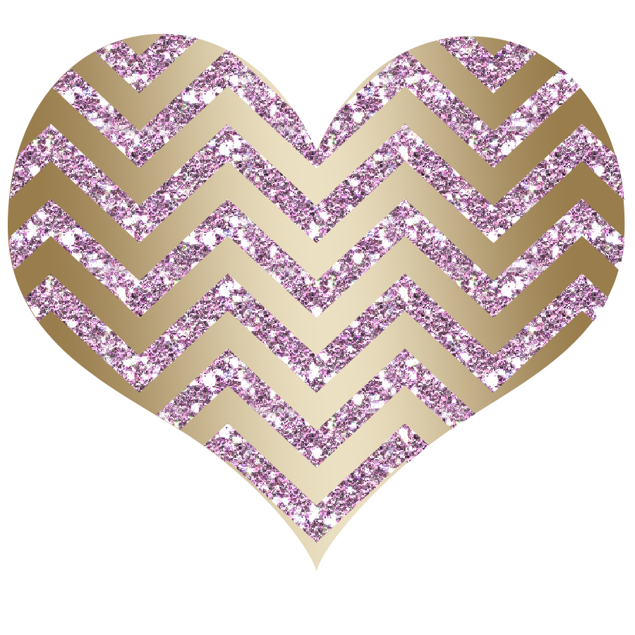 Glitter clipart rose gold heart. Scrapbook all things positively