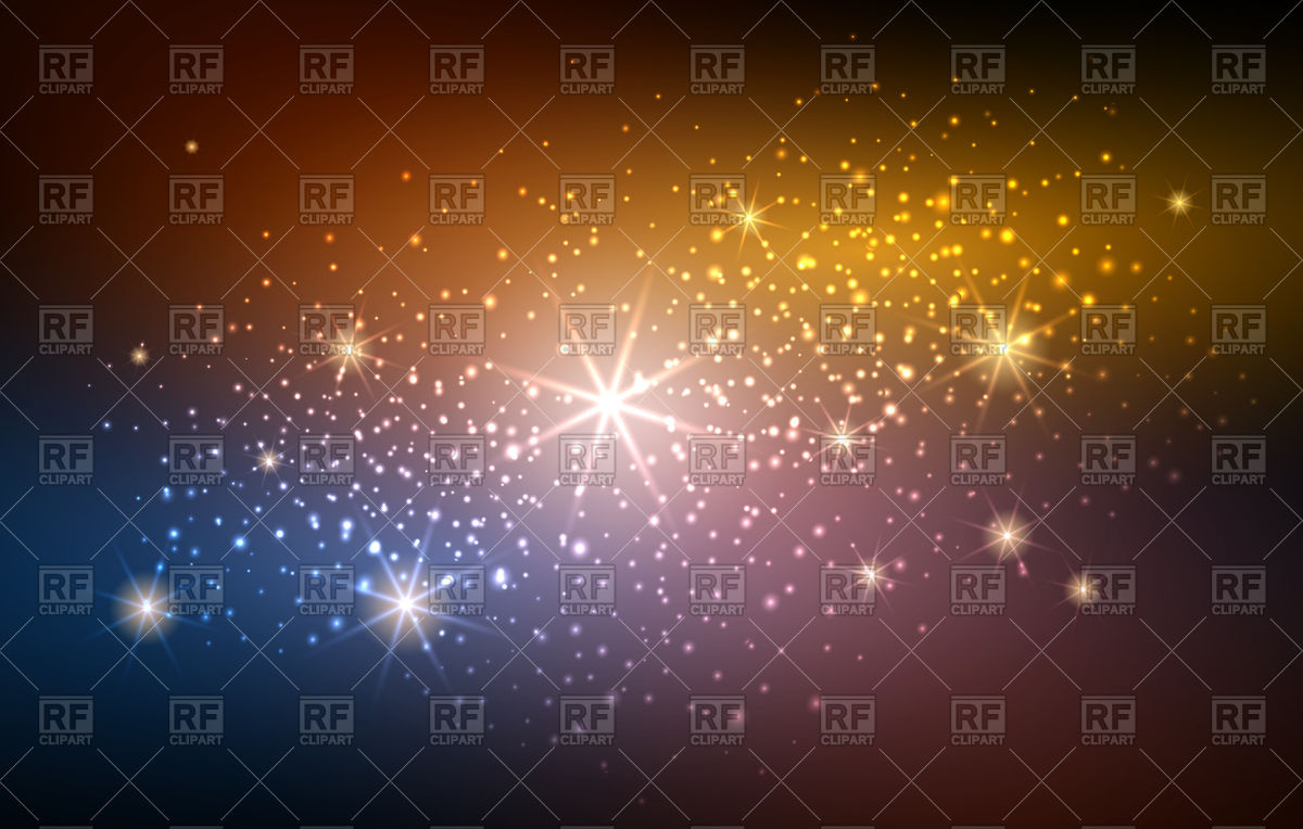 Space with blurry lights. Glitter clipart sparks jpg freeuse download