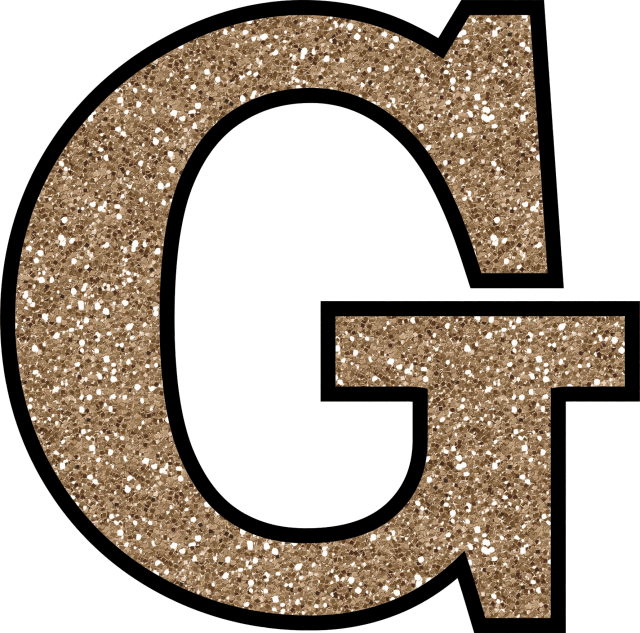 Glitter letters png. Without the glue free