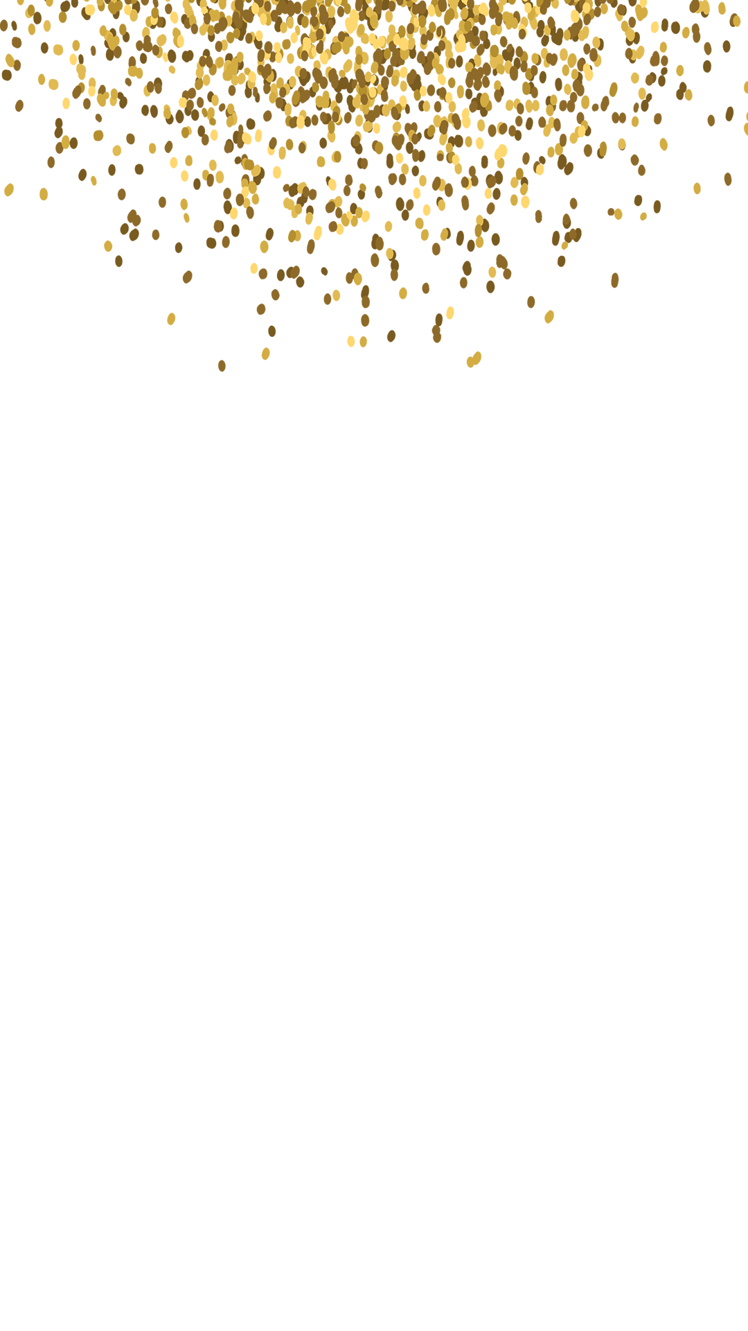 Gold glitter png. Engagement snapchat filter geofilter