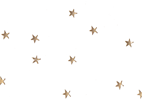 Glitter stars png. Image about cute in
