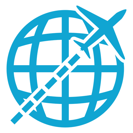 Global icon png. Flying transparent svg vector