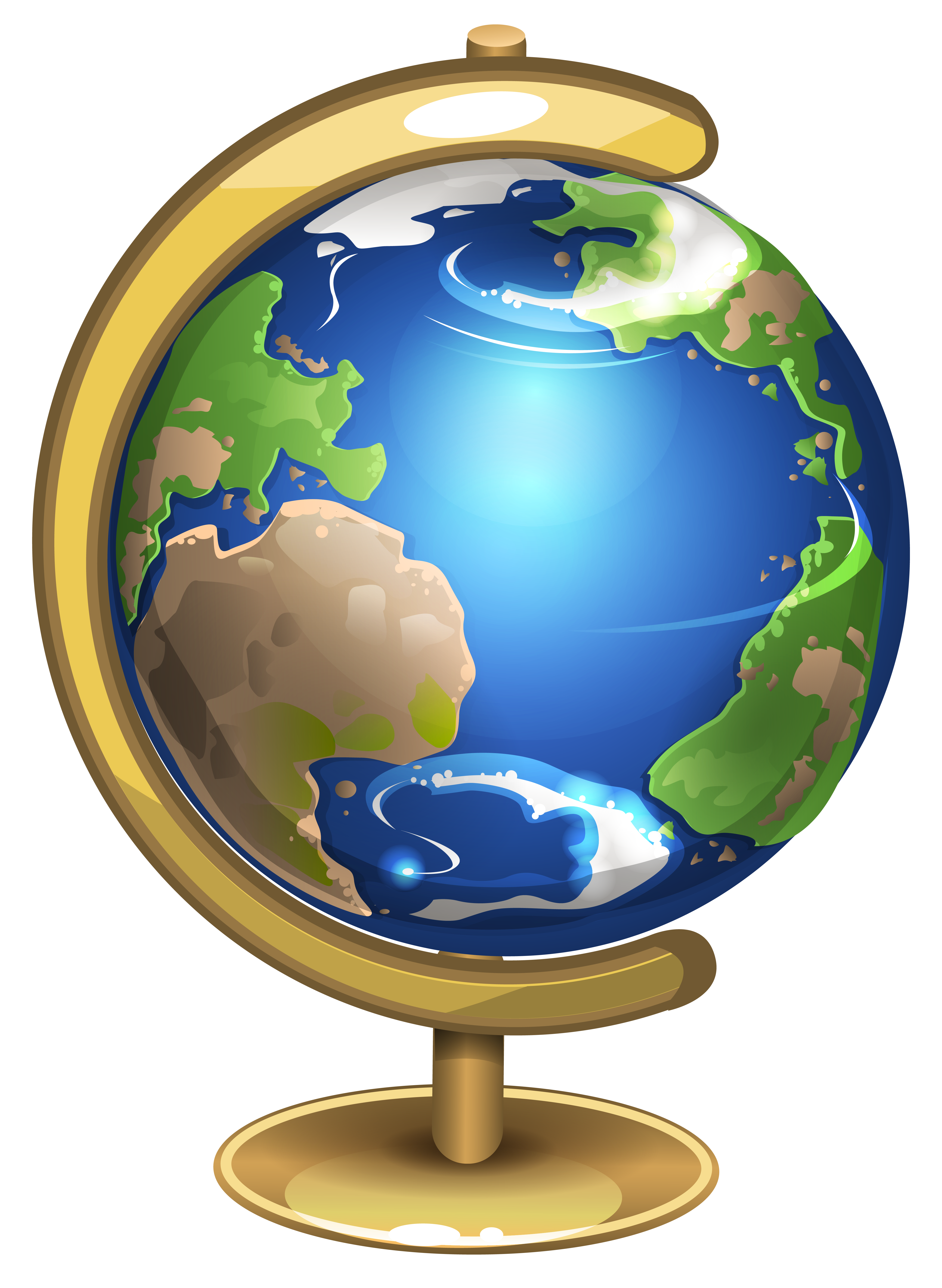 Globe clipart. School png picture gallery